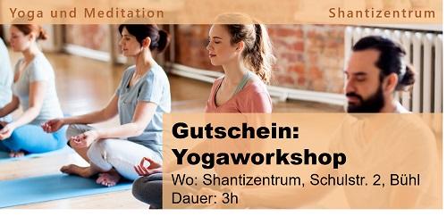 Gutschein: Yogaworkshop